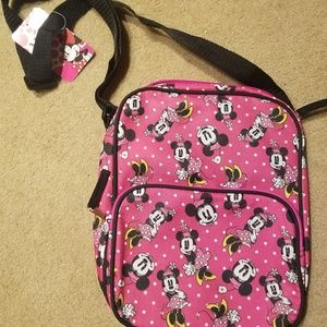 Disney Minnie Mouse Crossbody Bag New Pink